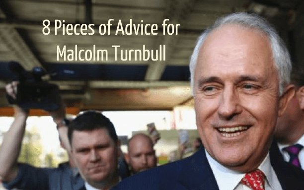 8 advice for malcolm
