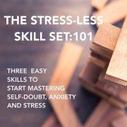 banner Stress less Sill set